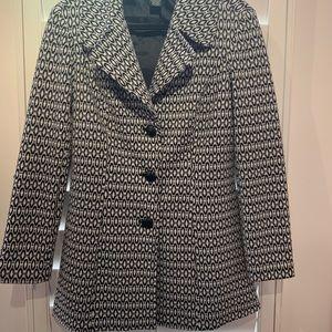White & Black Coat